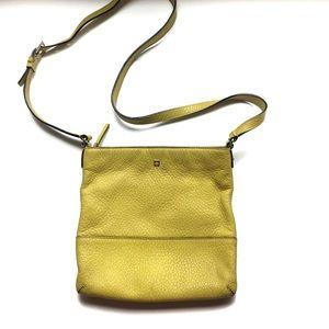 Kate Spade yellow cross body purse